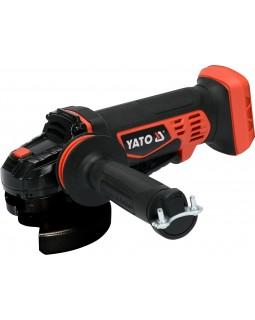 Шлифмашинка угловая аккумуляторная Yato YT-82827 LI-ION 18 В, без аккумулятора и зарядного устройства