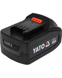 Аккумулятор универсальный YATO LI-ION 18 В 4 АЧ.