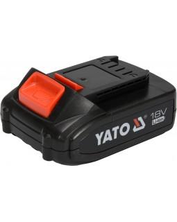 Аккумулятор универсальный YATO LI-ION 18 В 2 АЧ