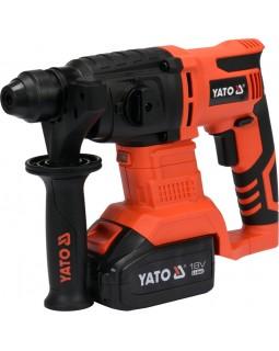 Перфоратор аккумуляторный YATO YT-82770