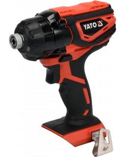 Шуруповерт ударный YATO 160 Нм, YT-82801, без аккумулятора и зарядного устройства.