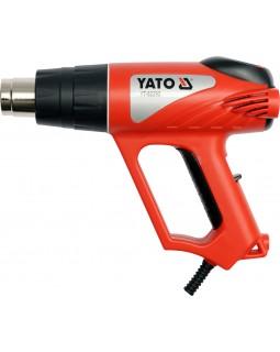 Фен строительный YATO 2000 Вт, YT-82292 (в кейсе с аксессуарами)