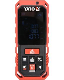 Дальномер лазерный YATO YT-73126 (0.2 - 40 метров, 10 режимов)
