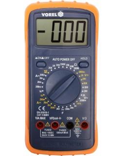 Мультиметр цифровой универсальный VOREL 81783