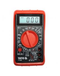 Мультиметр цифровой YATO YT-73080