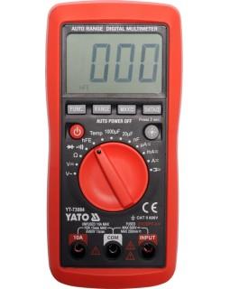 Мультиметр цифровой YATO YT-73084