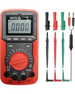 Мультиметр цифровой YATO YT-73086
