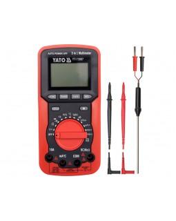 Мультиметр цифровой YATO YT-73087
