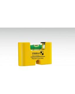 Уровень магнитный STABILA POCKET ELECTRIC 7 Х 2 Х 4 см