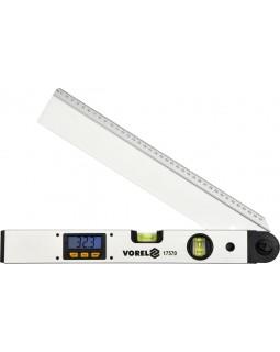 Уровень-угломер электронный, алюминиевый VOREL 17560, 40 см