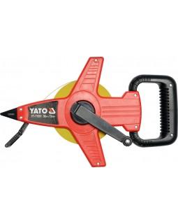 Рулетка геодезическая YATO YT-71555, 30 м