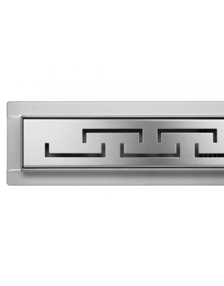 Трап для душа FALA OLIMP из нержавеющей стали, с сухим затвором (60-90 см)