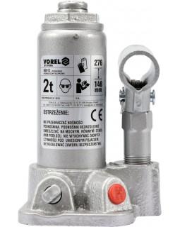 Домкрат гидравлический, бутылочный VOREL 2-20 Т
