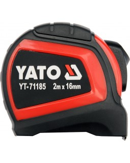 Рулетка стальная с нейлоновым покрытием YATO 2 м