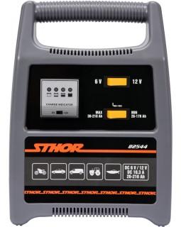Зарядное устройство для аккумуляторов Sthor 6-12 В, для аккумуляторов до 210 Ач