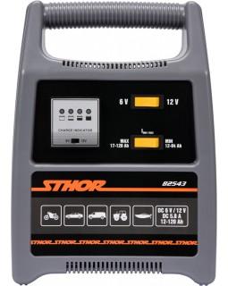 Зарядное устройство для аккумуляторов Sthor 6-12 В, для аккумуляторов до 120 Ач