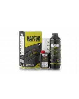 Краска повышенной прочности U-POL RAPTOR™ Черная 1 л комплект (RLB/S1)