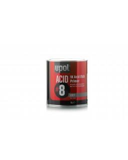 Грунт фосфатирующий (кислотный) U-POL Acid 8 банка 1 литр (ACID/1)