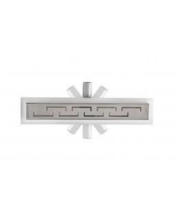 Трап для душа Epelli Grande 360, 90 см, из нержавеющей стали, с комбинированным затвором (80090)